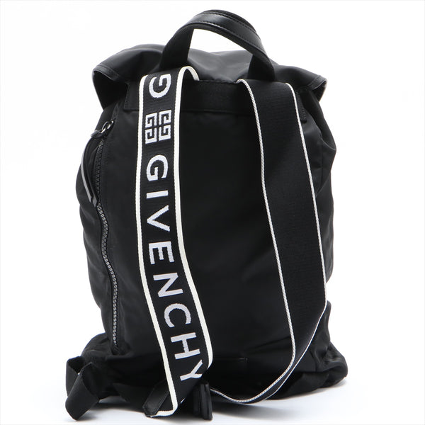 Givenchy Nylon x Leather Backpack / Backpack Black