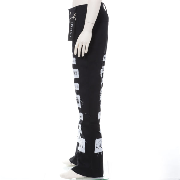Ikumi Cotton Denim Pants FREE Men's Black