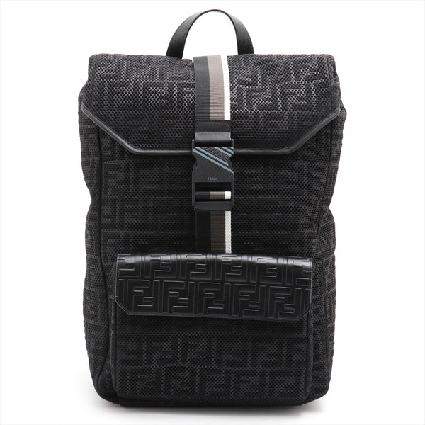 Fendi Mesh Backpack / Backpack Black