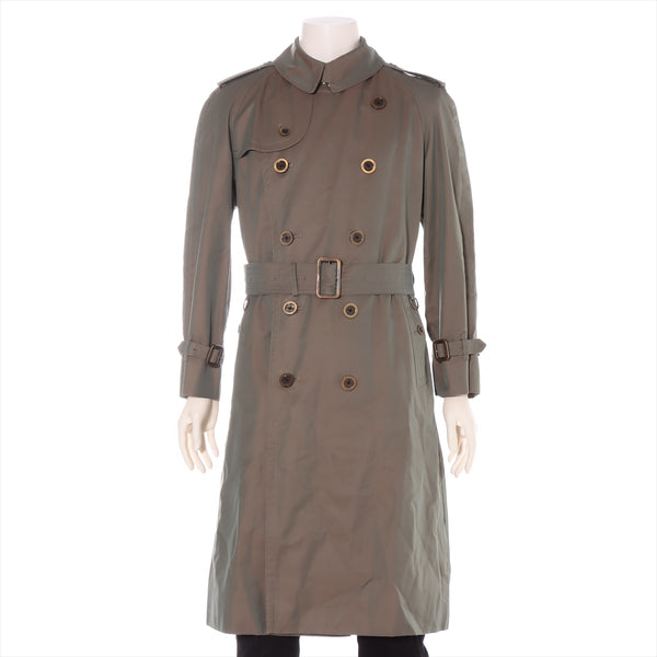 Burberry London Cotton Trench Coat Size Unknown Men's Khaki Liner