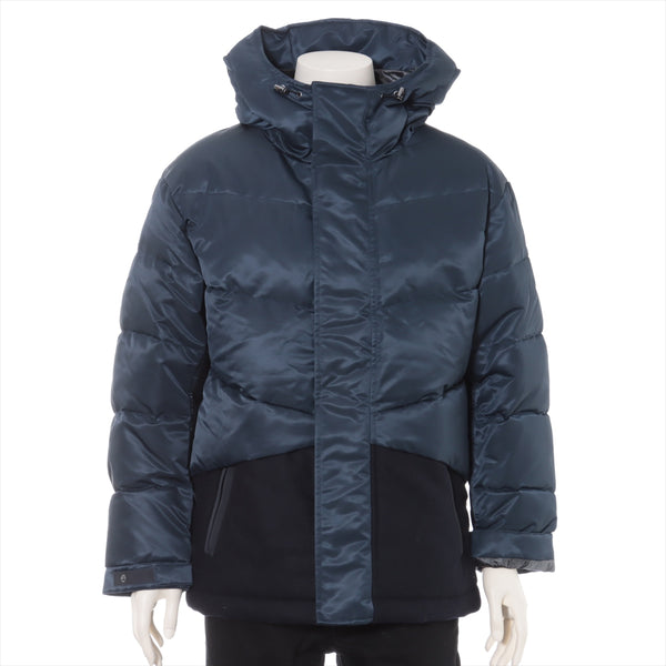 Plat Sujay 20AW Wool x Nylon Down Jacket M Men's Navy Hybrid Down Oversized Jacket Uniqlo