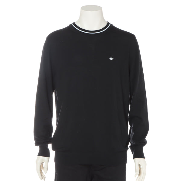 Dior Homme Wool Knit XL Men's Black ATELIER
