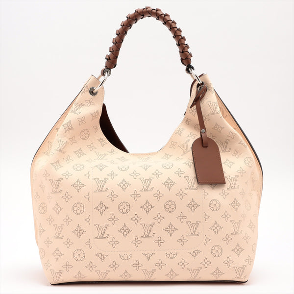 Louis Vuitton Mahina Carmel Hobo M53188