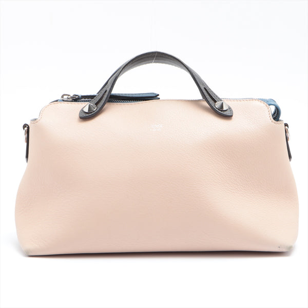 Fendi by the way leather handbag beige|RANK:B
