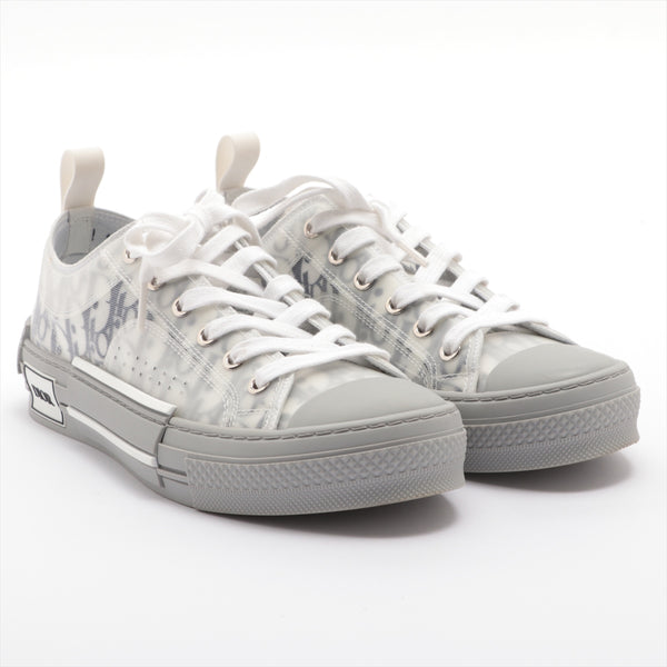 Dior Fabric Sneakers 39 Men's White Oblique B23