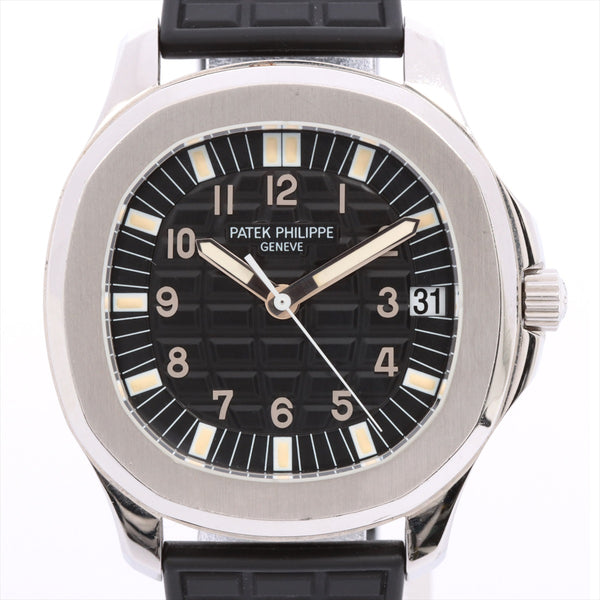 Patek Philippe Aquanaut 5065A-001 SSx Rubber AT Black Dial