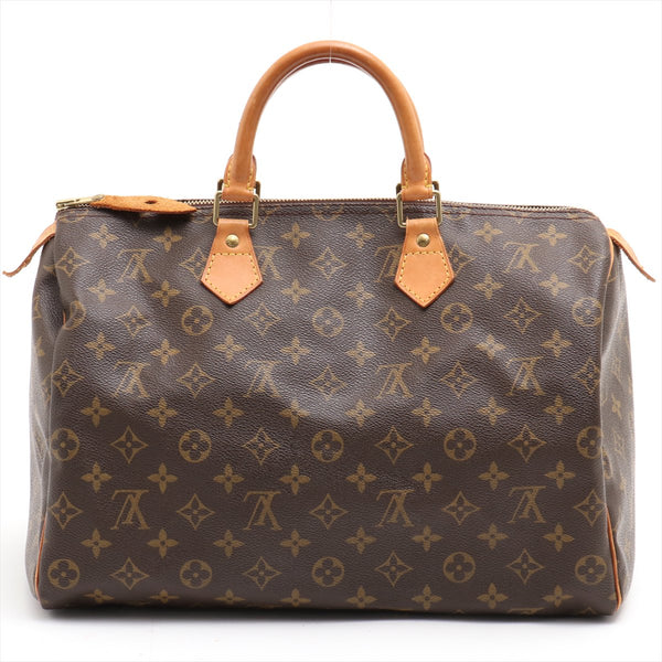 Louis Vuitton Monogram Speedy 35 M41524 Handbag
