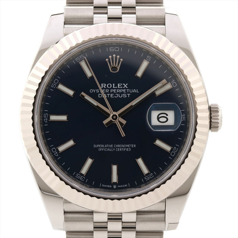 Rolex Datejust 126334 SSxWG AT blue dial