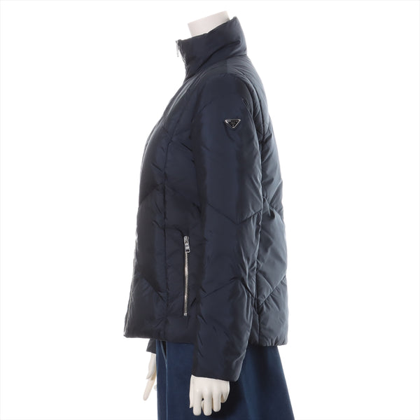 PRADA 15 years nylon down jacket 38 men's navy
