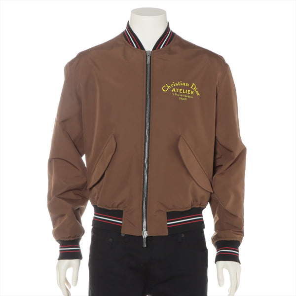 Dior Homme Polyester Batting Jacket 50 Men's Brown