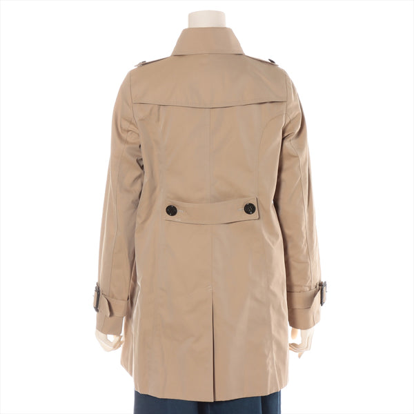 Burberry London Cotton Trench Coat 38 Ladies Beige