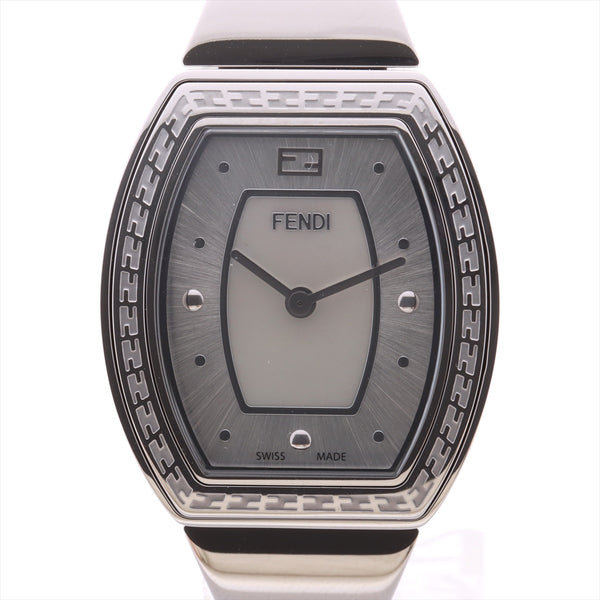Fendi My Wait Tonneau 101 Stainless Steel QZ Shell Dial