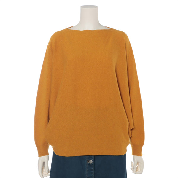 Hermes cashmere knit 38 ladies yellow