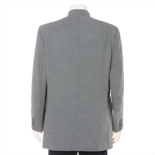 ISSEY MIYAKE Men's Hair Suit Jacket 8 Men's Gray Mao Color With Shoulder Pad