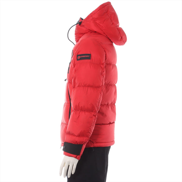 Burberry Nylon Down Jacket XS Men's Red