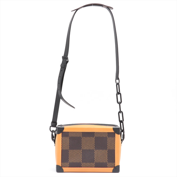 Louis Vuitton x NIGO Damier Giant Soft Trunk N40381 Brown AR2230