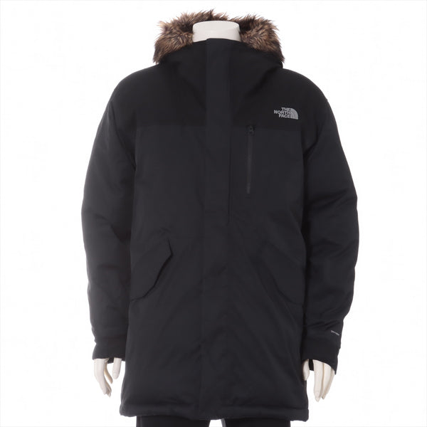 North Face Nylon Down Jacket M Men's Black Bedford Down Parka