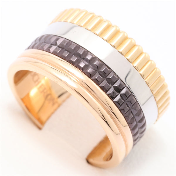 Boucheron BOUCHERON Quatre Large Ring 750 13.0g YGxPGxWG 53
