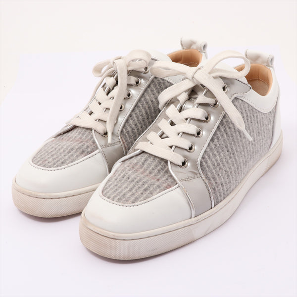 Christian Louboutin Leather Sneakers 41 Men's Gray