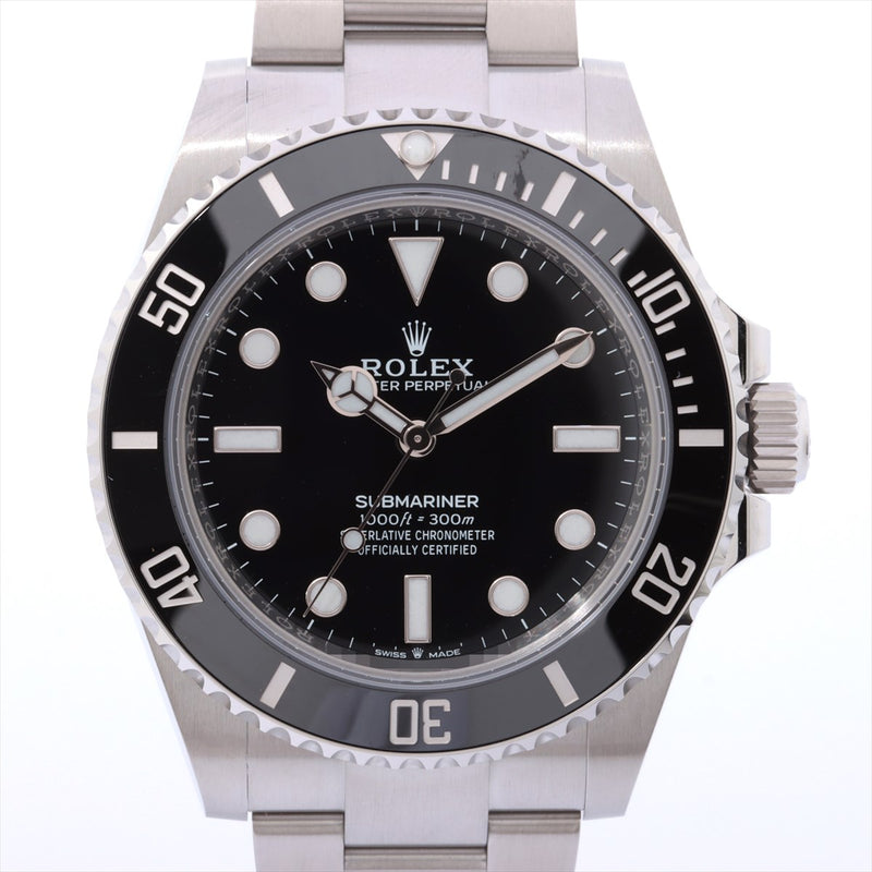 Rolex Submariner 124060 SS AT Black Dial