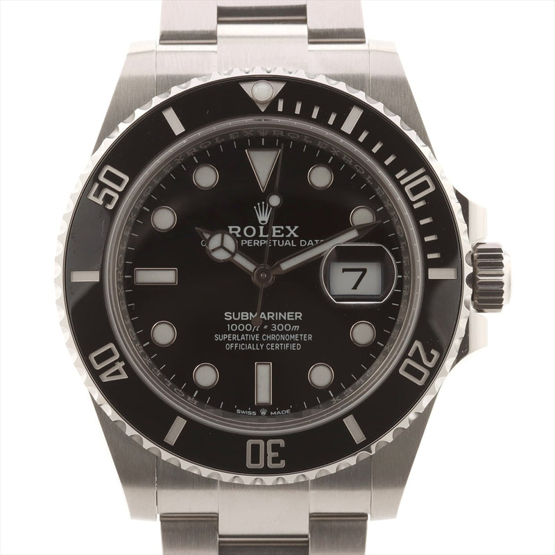 Rolex Submariner 126610LN SS AT Black Dial