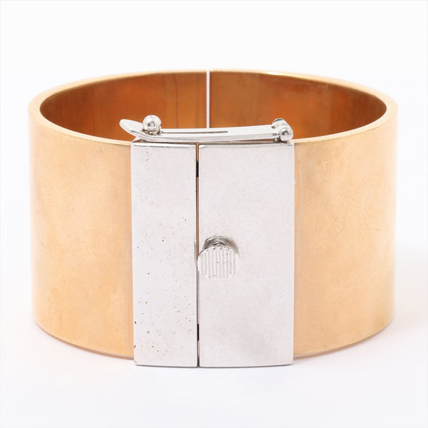 Celine Bangle Gold Plated Gold x Silver