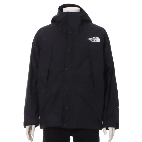 North Face Nylon Mountain Parka M Men's Black Mountain Light Jacket NP11834