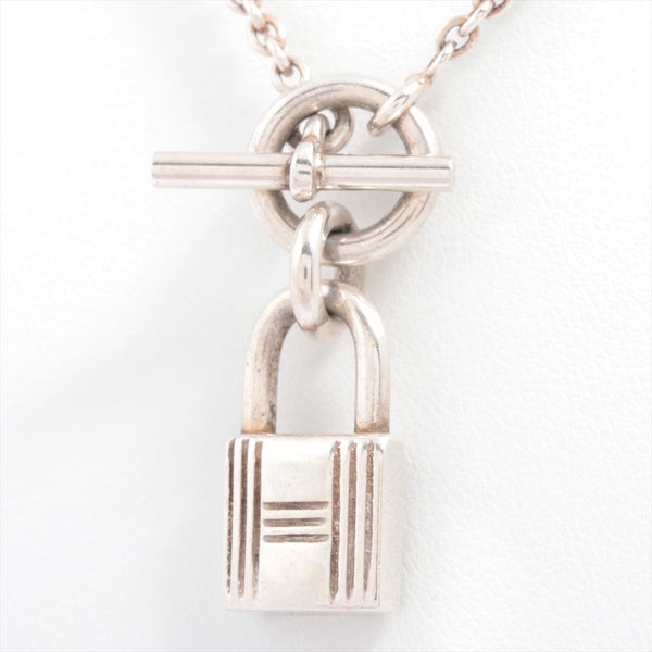 Hermes Cadena Necklace 925 Silver
