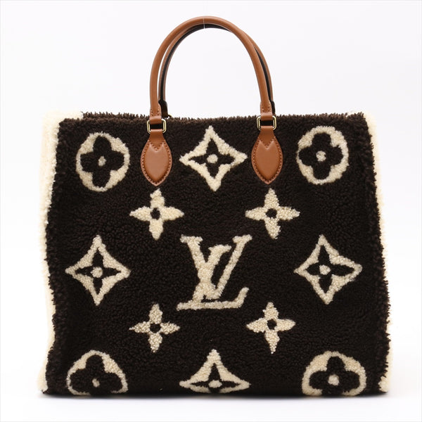 Louis Vuitton Monogram Teddy on the Go GM M55420VC MZ4119|RANK:A