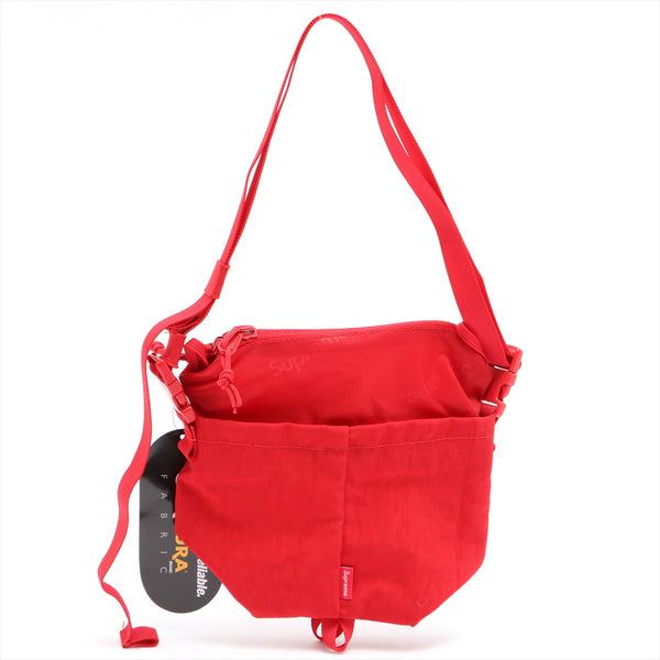 Supreme Nylon Shoulder Bag Red 20AW