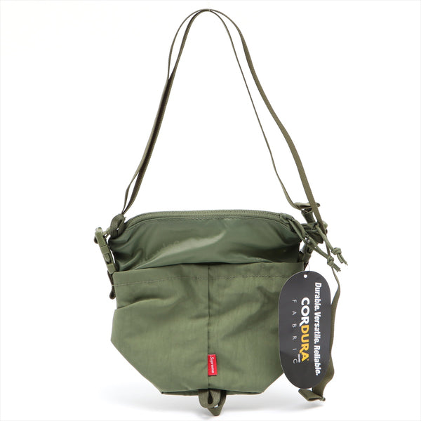 Supreme Nylon Shoulder Bag Green 20AW
