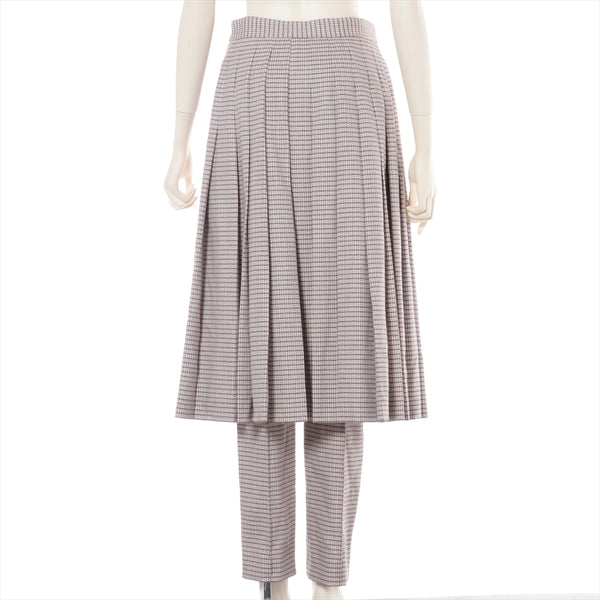 Fendi 18 Years Wool Pants 40 Ladies Beige|RANK:A