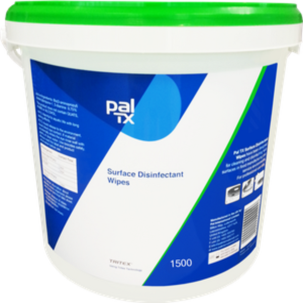 Perfect Pal TX For Surface Disinfectant Wipes (Tub of 1500)
