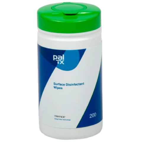 Pal TX Surface & Equipment Disinfectant Wipes (Tub of 150)