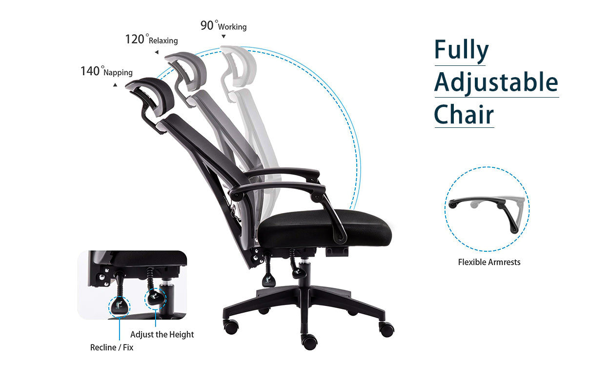 Picture of: Dripex Ergonomic Office Chair