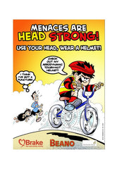 Beano cycle safety poster