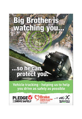 Telematics poster: 'Big Brother'