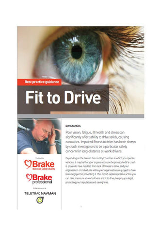 Best Practice Guidance: Fit to Drive