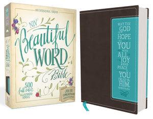 NIV BEAUTIFUL WORD BIB DUO