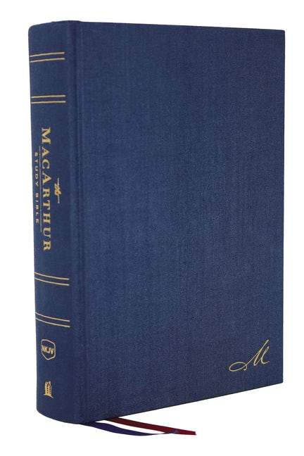 NKJV Macarthur study bible Sec.Edn. Cloth over Board