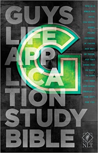 NLT Guy's Life application study bible (PB)