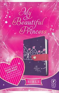 NLT My Beautiful Princess Bible Lea.Like Purple