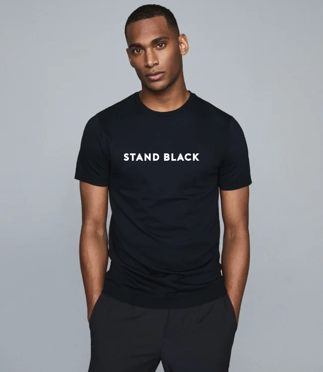 Stand Black Tee