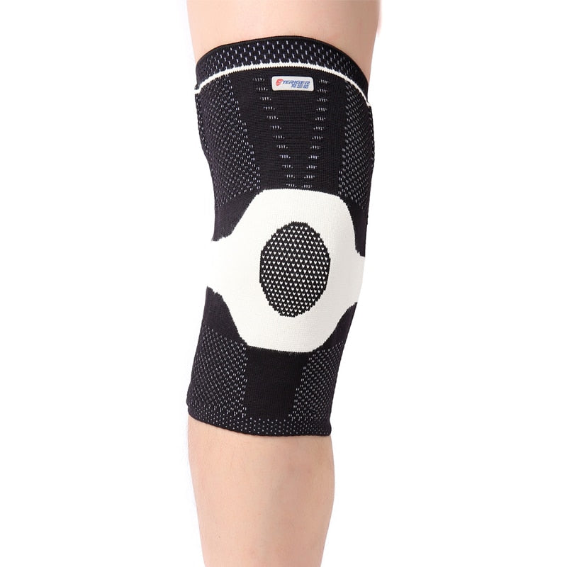 New far infrared heating health knitting knee stabilizer knee pads  sports support brace protector  free shipping  #knee1413