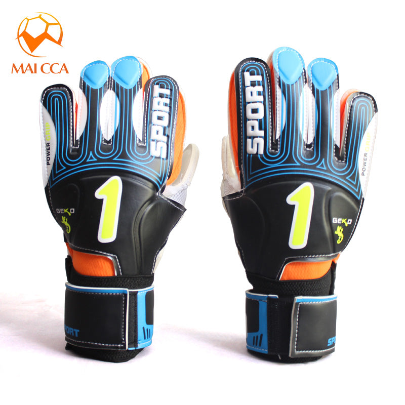 MAICCA Adult Professional kids Goalkeeper Gloves Soccer Football Thick Latex Finger Protection Soccer Football Goalie Gloves