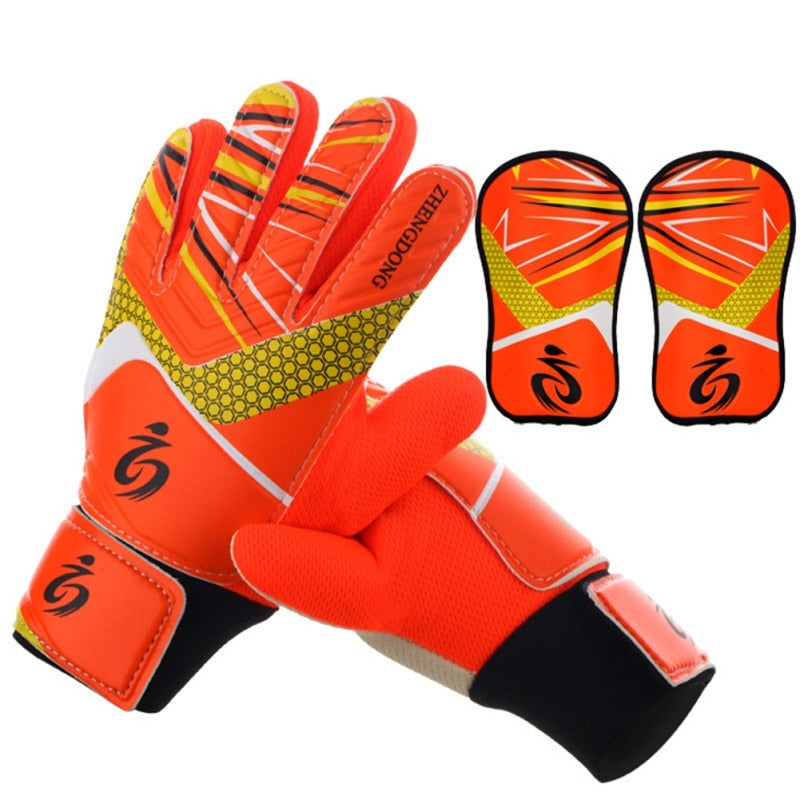 high quality soccer goalkeeper gloves soccer goalkeeper gloves breathable wear child goalkeeper gloves Rubber Football gloves