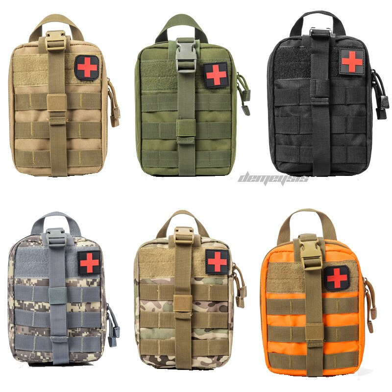 Outdoor Sports Military Travel First Aid Kit Tactical Hunting Hiking Medical Bags Camping Climbing Emergency Case Survival Kits