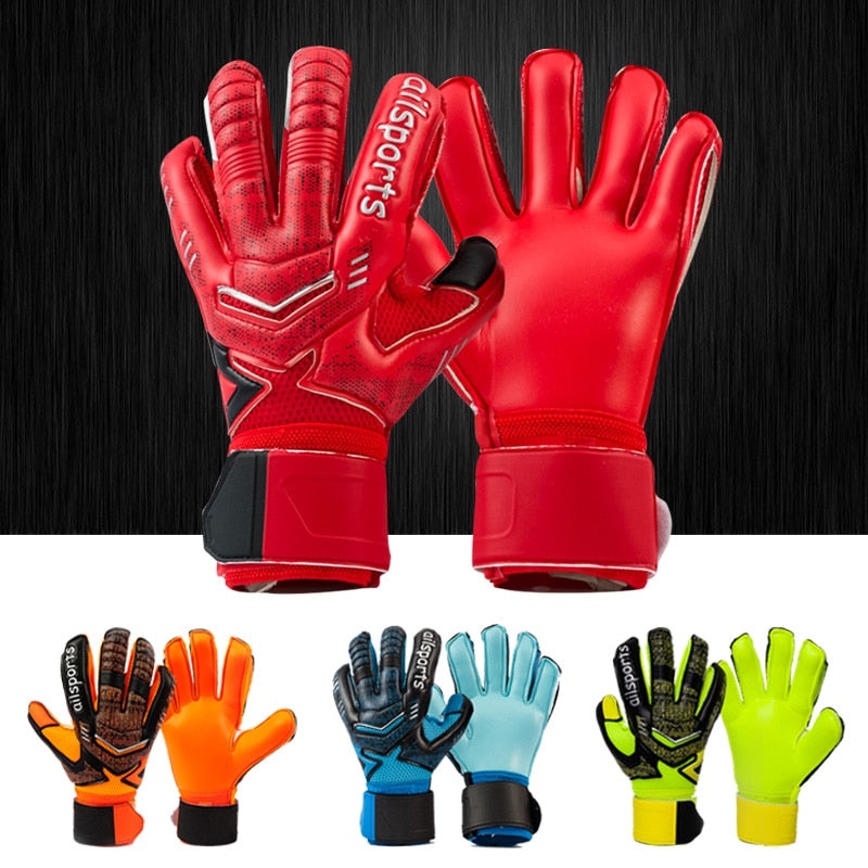 Men women kids child professional soccer goalkeeper gloves football goalie glove thick 4mm latex 5 finger save protection guard