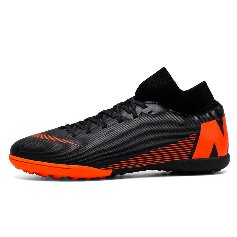 Professional Futsal Soccer Shoes for Men Turf Lawn Trainers Outdoor Unisex Boys Sport Cleasts Football Shoes Training Sneakers