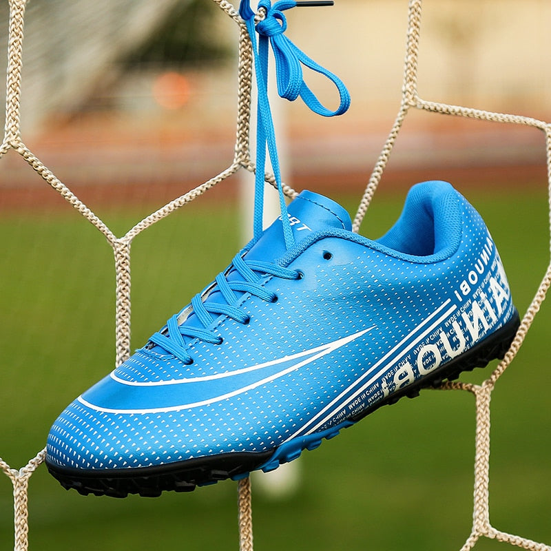 Kids Boy Girls  Soccer  Shoes  indoor football Shoes sneakers turf futsal original football boots Comfortable Waterproof